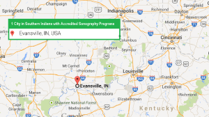 one accredited ultrasound technician school in Southern Indiana