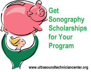 Get sonography scholarships for ultrasound programs
