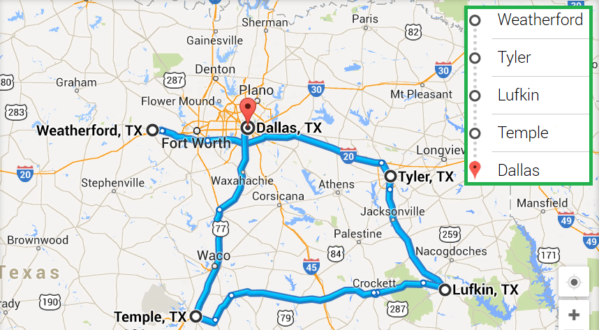 4 cities near Dallas Texas with accredited sonography schools in 2017