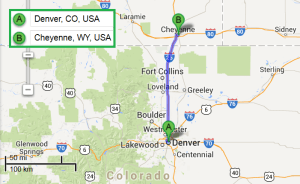 1 city near Denver CO with accredited sonography programs in 2014