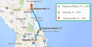 2 cities near Jacksonville FL with accredited sonography programs in 2014