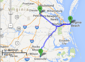 2 cities near Virginia Beach Virginia with accredited sonography schools in 2014