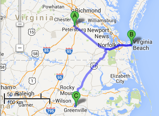 2 cities near Virginia Beach Virginia with accredited sonography schools in 2014