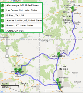 5 cities near Albuquerque New Mexico with accredited sonography schools in 2014