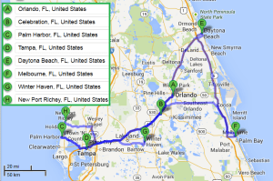 7 cities near Orlando Florida with accredited sonography schools in 2014