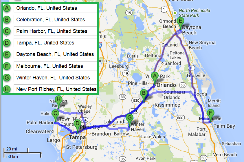 7 cities near Orlando Florida with accredited sonography schools