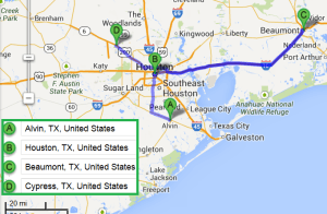 3 cities near Alvin Texas with accredited sonography schools in 2014
