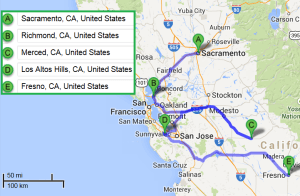 4 cities near Sacramento CA with accredited sonography schools in 2014