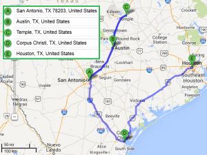 4 cities near San Antonio Texas with accredited sonography schools in 2014