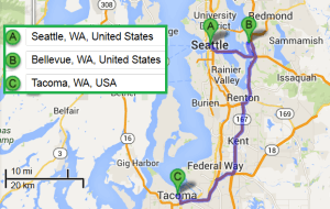 2 cities near Seattle Washington with accredited sonography schools in 2014
