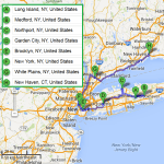 7 cities on Long Island NY with accredited sonography schools in 2014