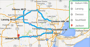 4 cities near Jackson MI with accredited sonography programs in 2014