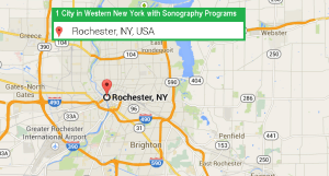 1 city with ultrasound technician schools in Western New York