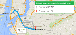2 cities with ultrasound technician schools in Queens NY