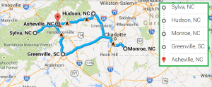 4 cities near Asheville NC with accredited ultrasound technician schools in 2014