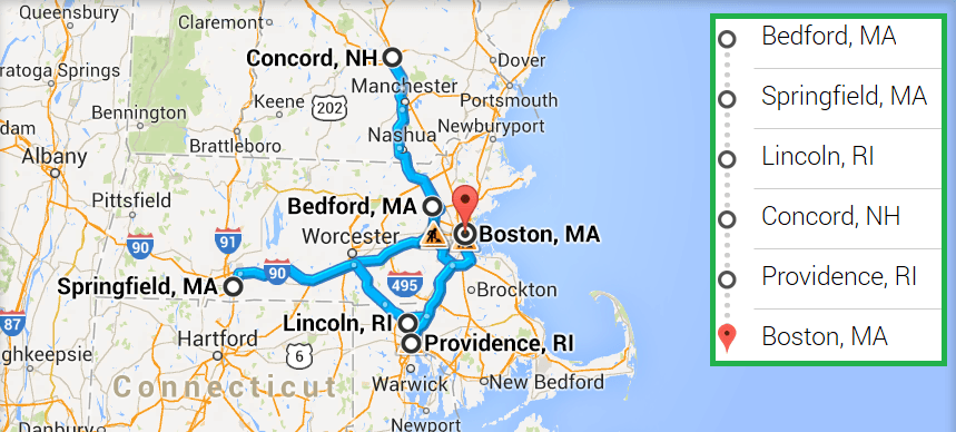 5 cities near Boston MA with accredited ultrasound technician schools in 2017