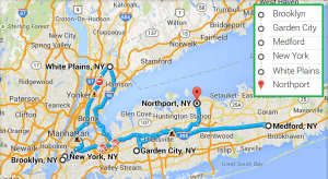 5 cities near Northport NY with accredited ultrasound technician schools in 2014