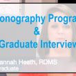 Sonography Program Introduction and Graduate Interview at Lurleen B Wallace Community College