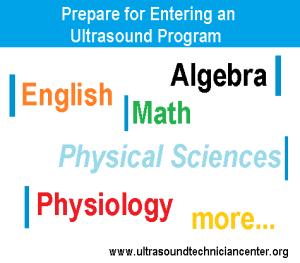 Prepare for entering an ultrasound program