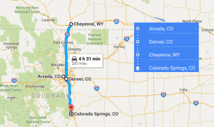 cities near Colorado Springs CO with accredited sonography programs in 2016