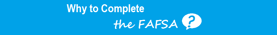 why to complete the FAFSA for your sonography program