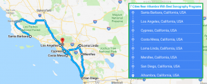 7 Cities Near Alhambra With Best Accredited Sonography Programs in 2018