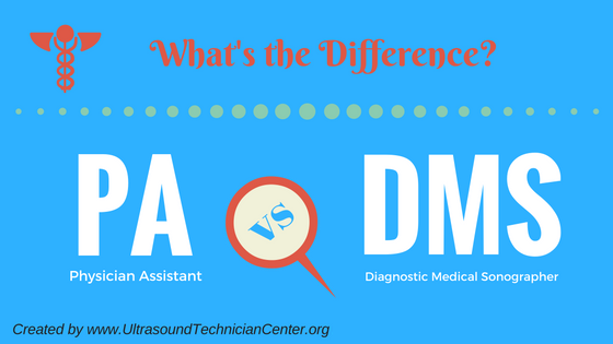 sonographer vs physician assistant