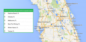 6 cities in Central Florida with accredited ultrasound technician schools